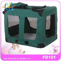 Folding dog kennel pet carriers/pet carrier/cute dog carrier bag