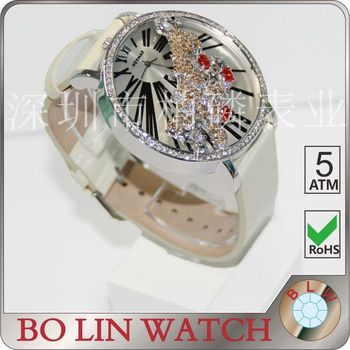 watch women/brass casting case/japan movement/Aires jewelry design/imported glass/3 atm, women watch high quality