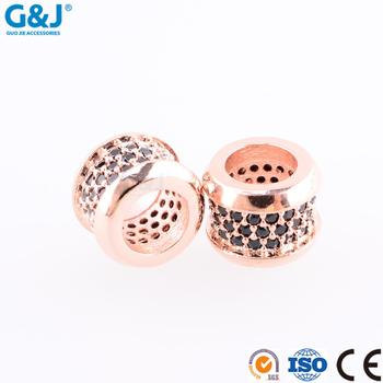 Guojie brand hot selling pendant necklace 2017 new style metal beads and round ring charm gold pendant