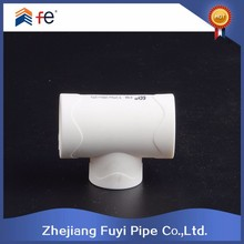 Manufacturer PB pipe fitting reducing tee dimensions