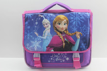 Purple drawing set school bag frozen