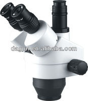 trinocular zoom stereo microscope viewing head