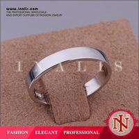 2014 platinum plating womens wide band ring R036