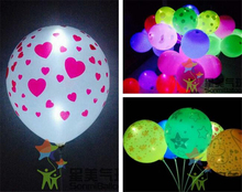 cheap new fashion hot selling 12 inch 2.8g latex printing shaped balloon for party