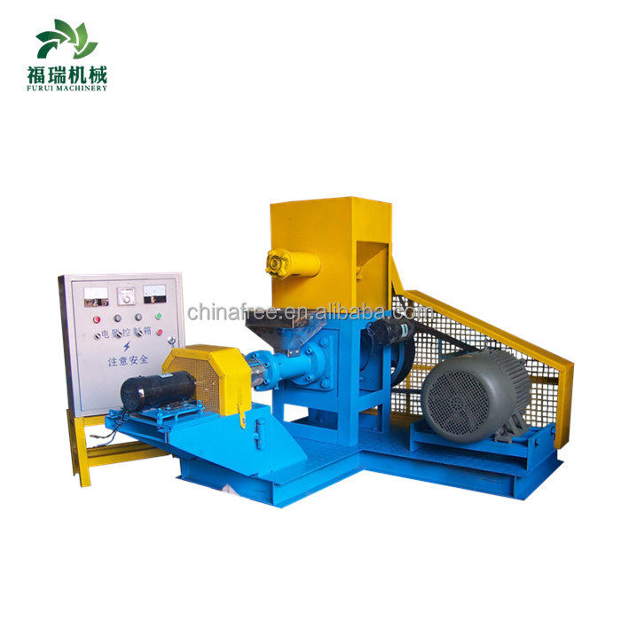 Hot selling fish food making machine/floating fish feed pellet machine with china top quality