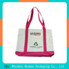 Custom recyclable shopping cotton calico tote bag