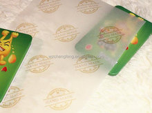 cheap custom printed wax paper for soap wrapping