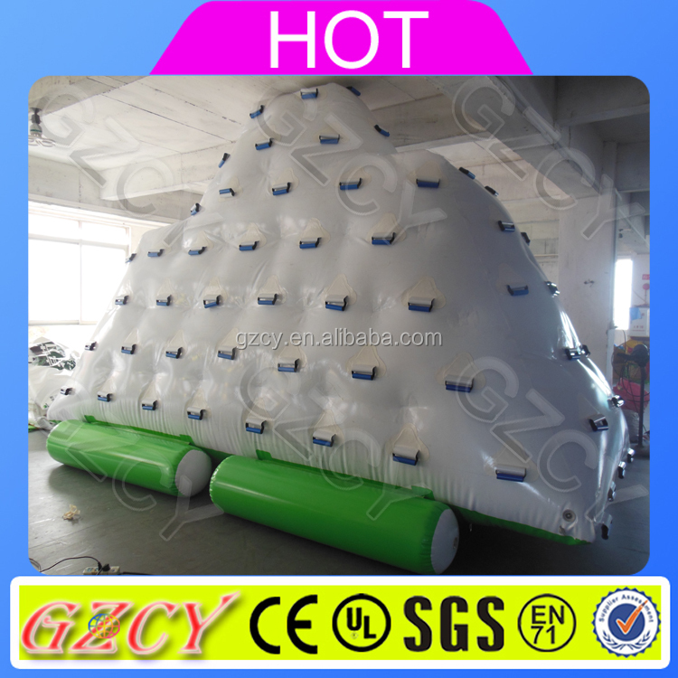 2016 Inflatable Iceberg Water Climbing Sports Ice Mountain