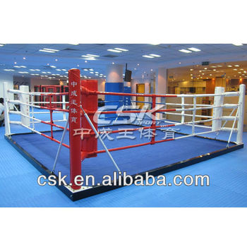how to make a floor boxing ring