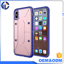 Wholesale shockproof mobile back cover case for iphone 10 case, for iphone x case
