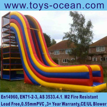 Inflatable spidertower with slide/inflatable climbing slide/inflatable spider tower games