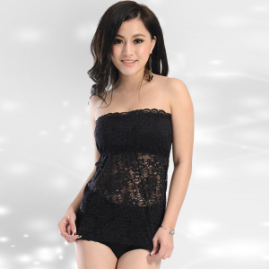 27544be30db85 Wholesale Hot Sexy Transparent Lace Big Boob Girl Tube Top for Ladies