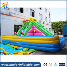 Customized Inflatable Water Pool Slide Cheap Inflatable Water Slide For Sale 2017