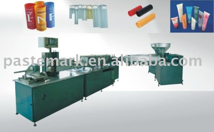 cosmetic tube making machine