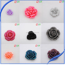 DIY flat back resin flower craft accessories fashion resin cabochons