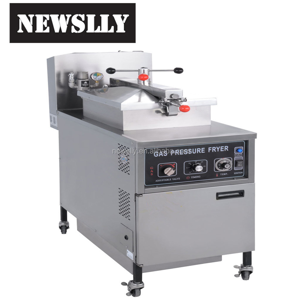 2017 New product gas pressure fryer commercial deep fryer