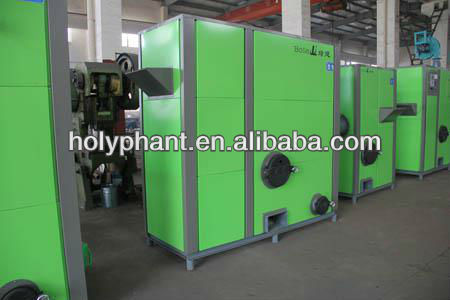 Biomass pellet hot water boiler for hotel