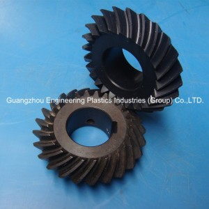 Factory price high performance cnc machining gear wheel PA66 helical gear prices