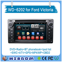 2016 car dvd player for Ford Victoria car video multimedia dvd players steering wheel audio control Dashboard Bluetooth 3G Wifi