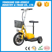 Professional Adjustable Electric Passenger Tricycle Three Wheel Scooter