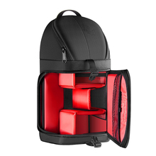 1CR0172 Professional Waterproof Shockproof Partition Protection Camera Case Sling Backpack for DSLRs and Mirrorless Cameras