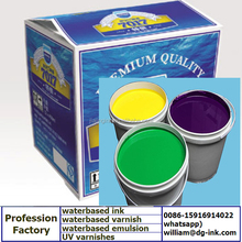 WATERBASED FLEXO INKS FOR KRAFT CORRUGATED BOX