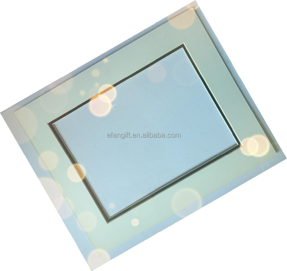 double layer photo frame mount board/matboard/mat board/passepartouts