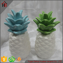 ceramic glazed potted shape home decor wholesale