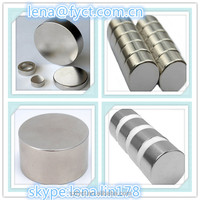 OEM accepted cash on delivery cheap strong neodymium big round magnet