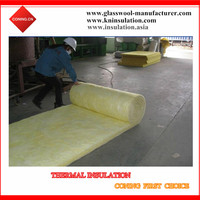 High Density 25mm 50mm Glass Wool for Industrial Equipment Insulation