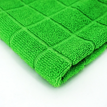 microfiber car washing wiping mesh cloth