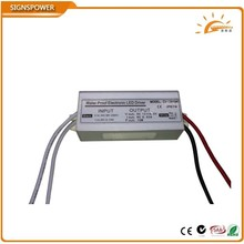 CE RoHS Approved 10W 12V 0.83A waterproof LED driver Water Proof Electronic LED Driver CV-12010A