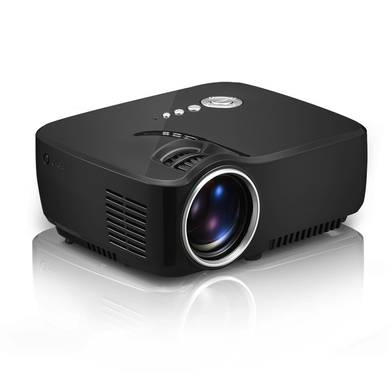 GP70 Mini LED Projector Support 1080P hd portable pico Projector For Home Cinema proyector With HDMI USB VGA
