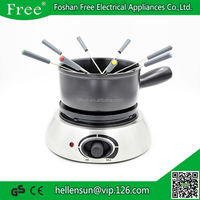OEM Kitchen application stainless steel electric fondue set