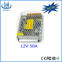 High quality and low price meanwell style 220v ac to 12v dc transformer 600w power supply for led