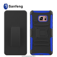 hard combo robot kickstand case cover for Samsung Galaxy Note 6 7