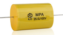 Polypropylene capacitor 400v 104j CBB20 axial capacitor polarity Low temperature rise inside High isolation resistance