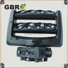 Master-slave,/self-working,/Sound Active working mode 8*10W 4in1 led moving head spider light