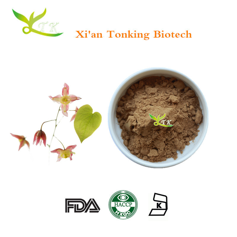 Best selling products! Icariin 98% epimedium plant extract