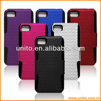 2 in 1 Silicone+PC Hard Case for BlackBerry Z10