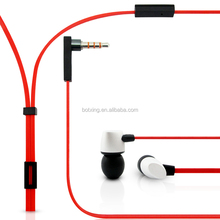 New arrival China market promotional earphone free sample