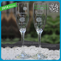 2015 Hot Sale Wine glass champagne moet chandon