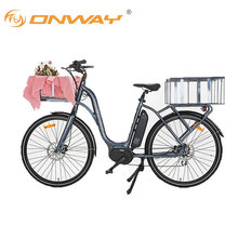 2017 new city cargo electric bicycle with middel motor