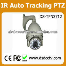 With CE:100M IR distance outdoor auto tracking PTZ, DS-TPN3712