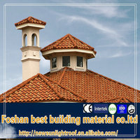 1340*420mm color steel tiles roof /plastic roof tiles/cheap roofing materials
