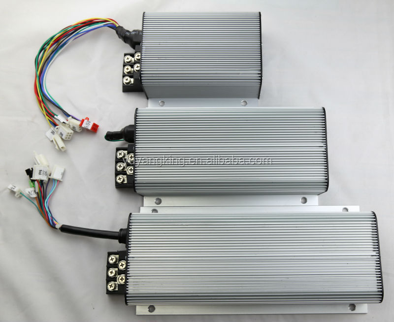 High efficiency strong capacity 1000W 24V 36V 48V to 120v common DC motor speed controller