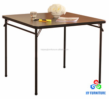 Simple design wooden folding table used folding tables for sale
