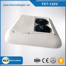 Engien van top installation roof mounted bus air conditioner