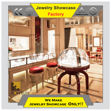 Top Grade 2015 brand name jewelry and watch boutique store display showcase cabinet