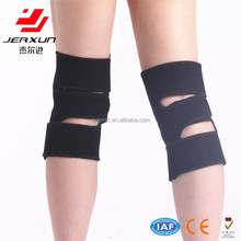 Health care adjustable knee brace construction knee pads